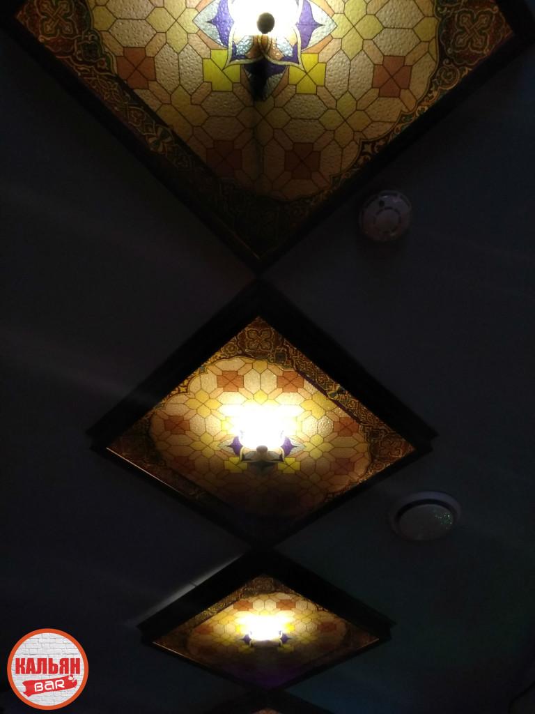 Оформление потолков в кальян-баре на Чистых Прудах