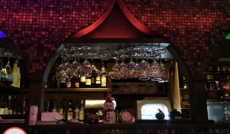 Восточные мотивы в Кафе Кальян на Покровке