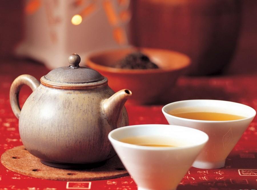 Чашечка ароматного чая в Simon's