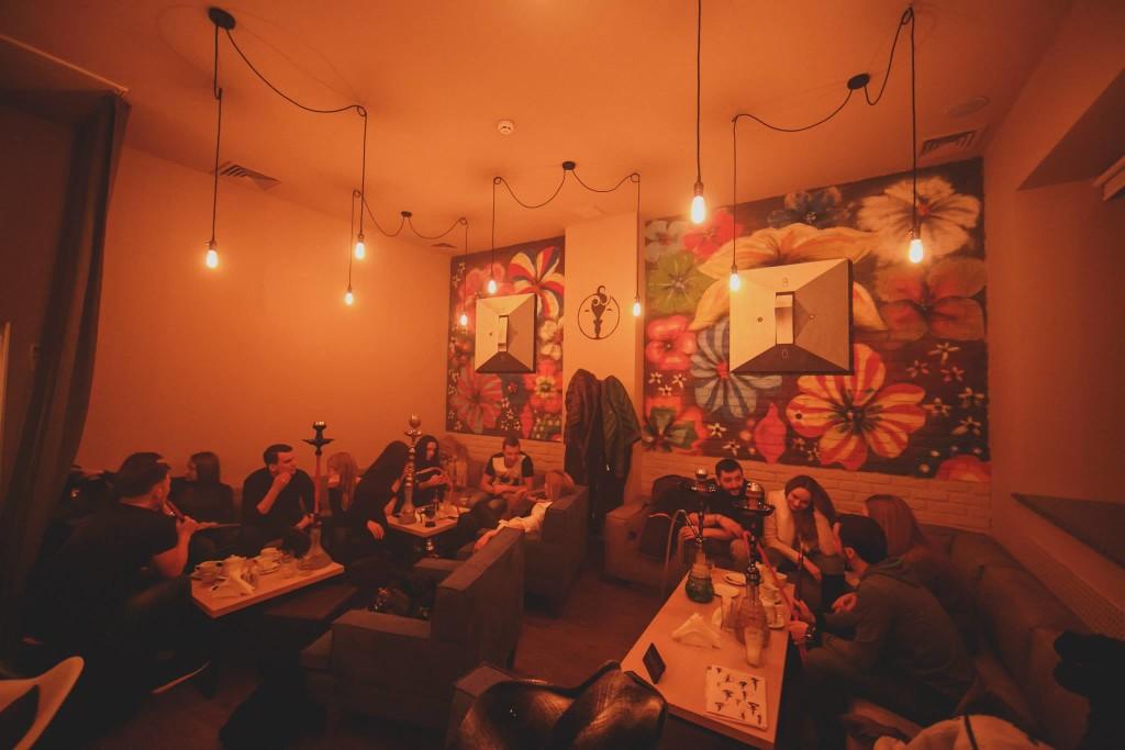 Goza Smoke Bar: внутренняя комната