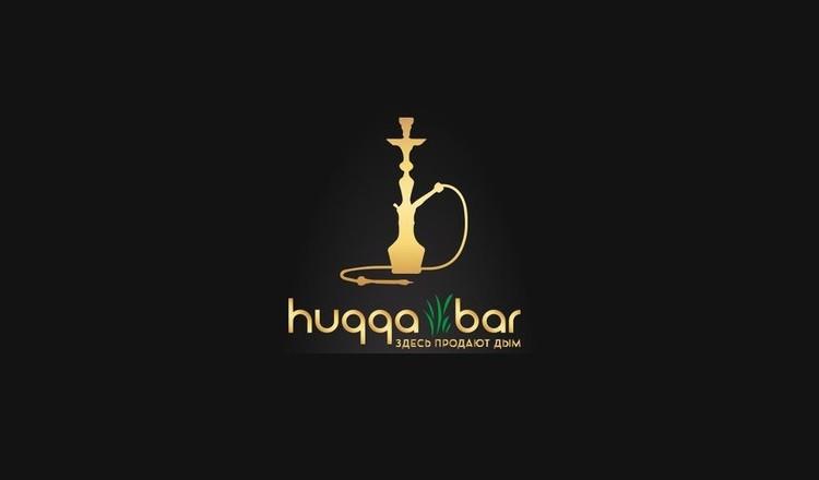 Логотип кальян-бара Huqqa Bar