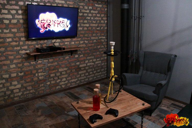 Интерьер кальян-бара Vertigo Lounge