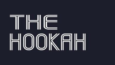 Логотип кальянной The Hookah