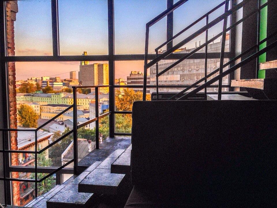 Вид из окна Haze Rooms