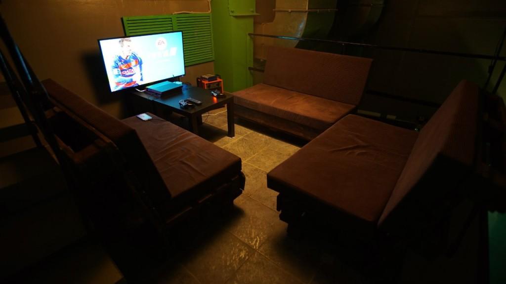 Игровая комната в Haze Rooms