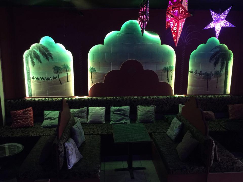 Desert Rain Lounge interior