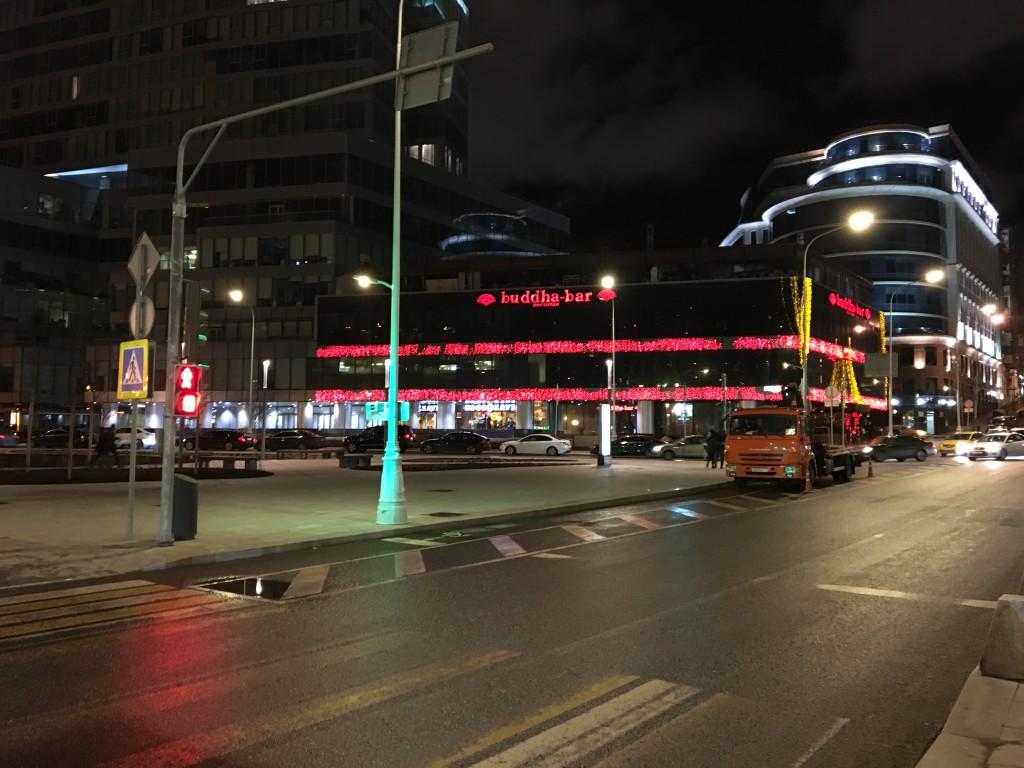 Вид с улицы на Buddha Bar Moskow