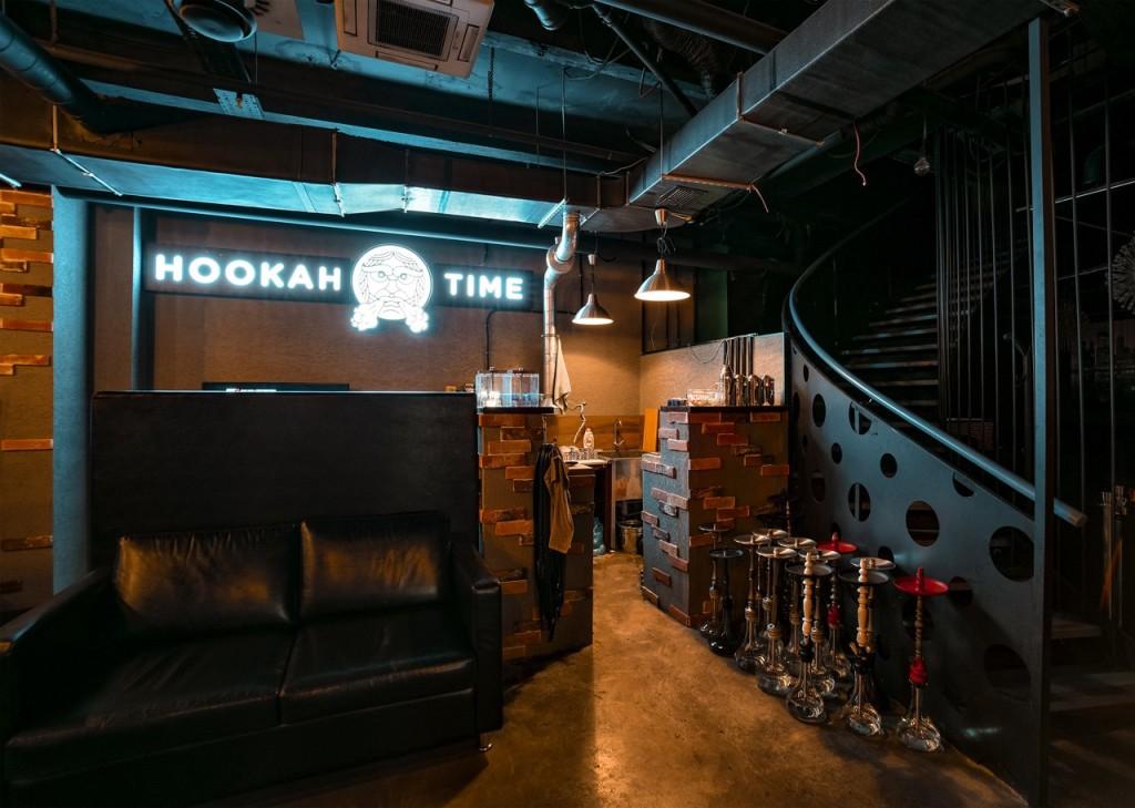 Hookah Time Коллаборация: интерьер