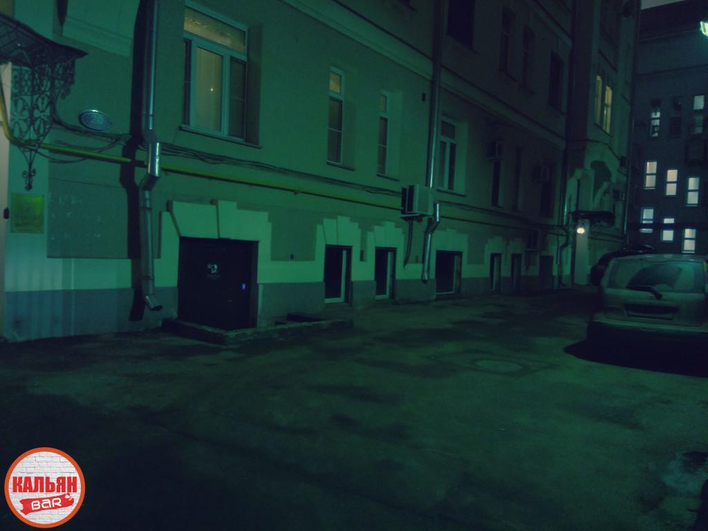 Вход в лаунж-бар Blacklist в Москве
