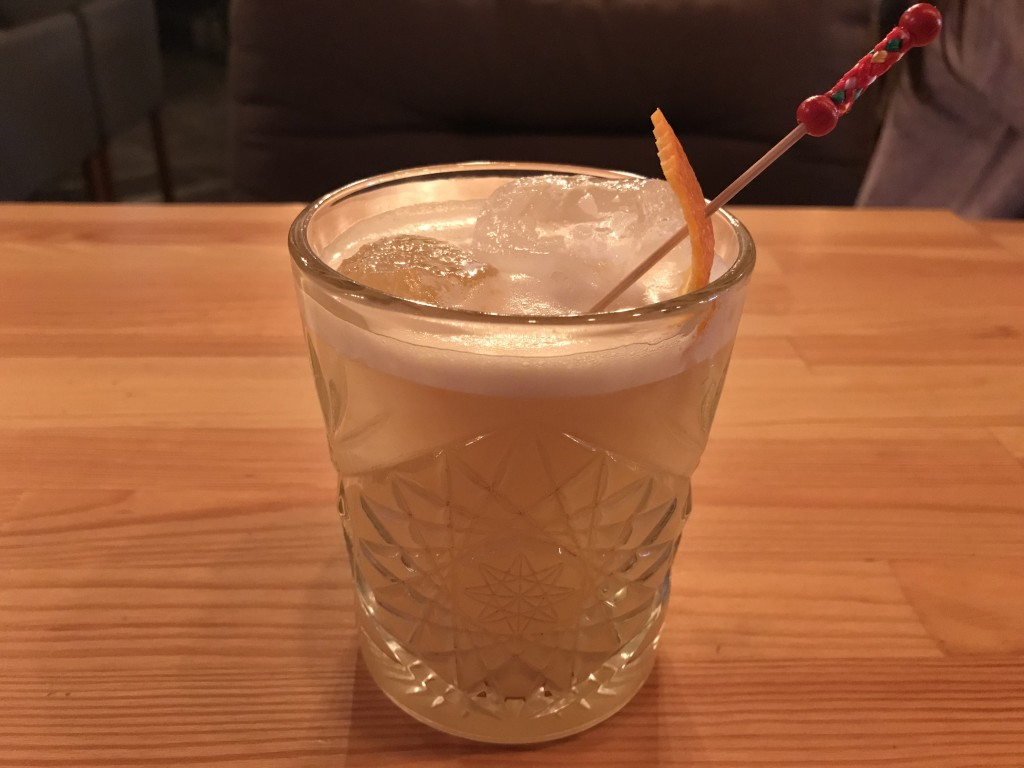Коктейль HQ Whiskey sour в HQ Баре