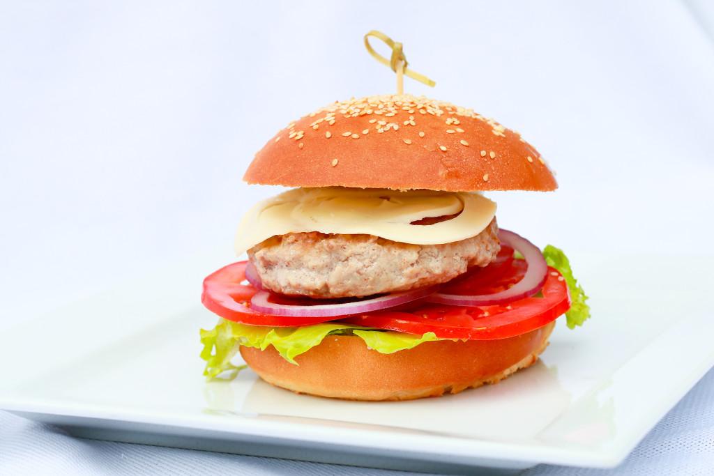 Бургер из меню Loading Bar