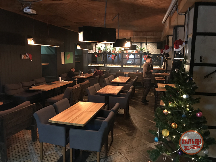 Интерьер HQ Bar Киев