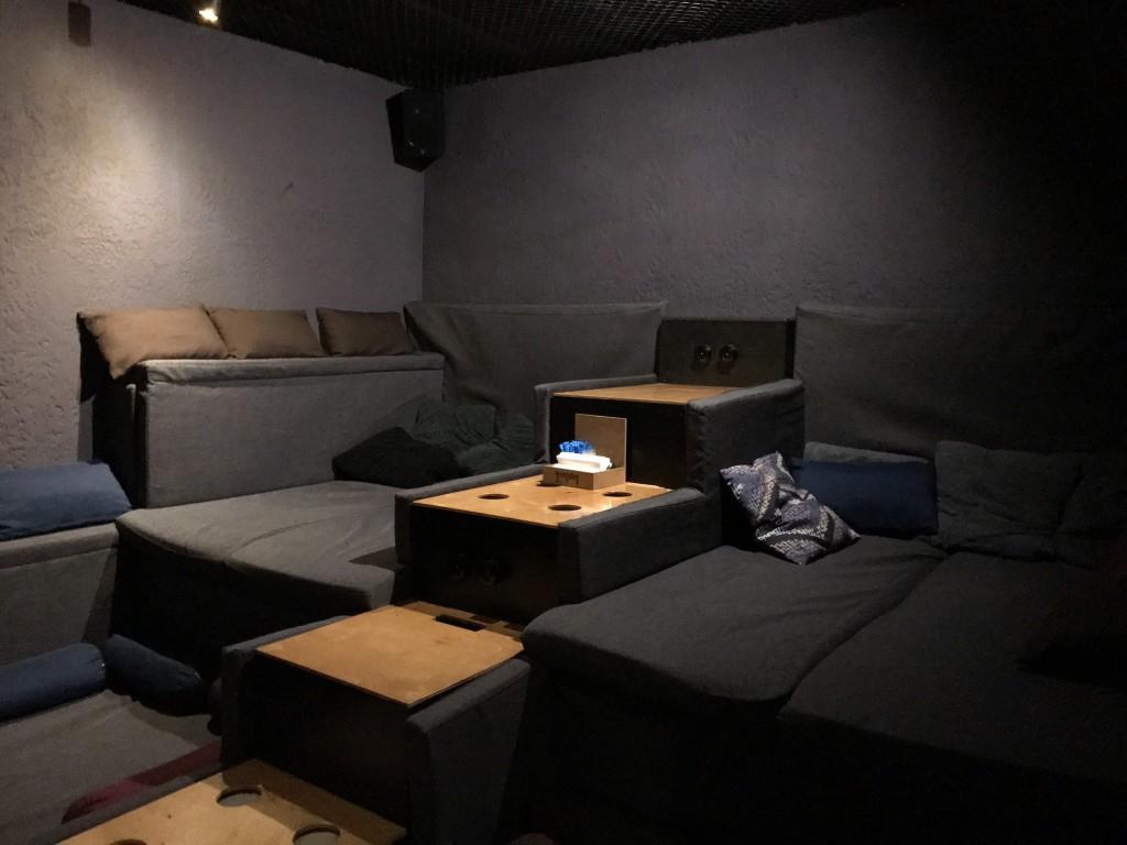Rockfellow 210 - одна из комнат антикинотеатра