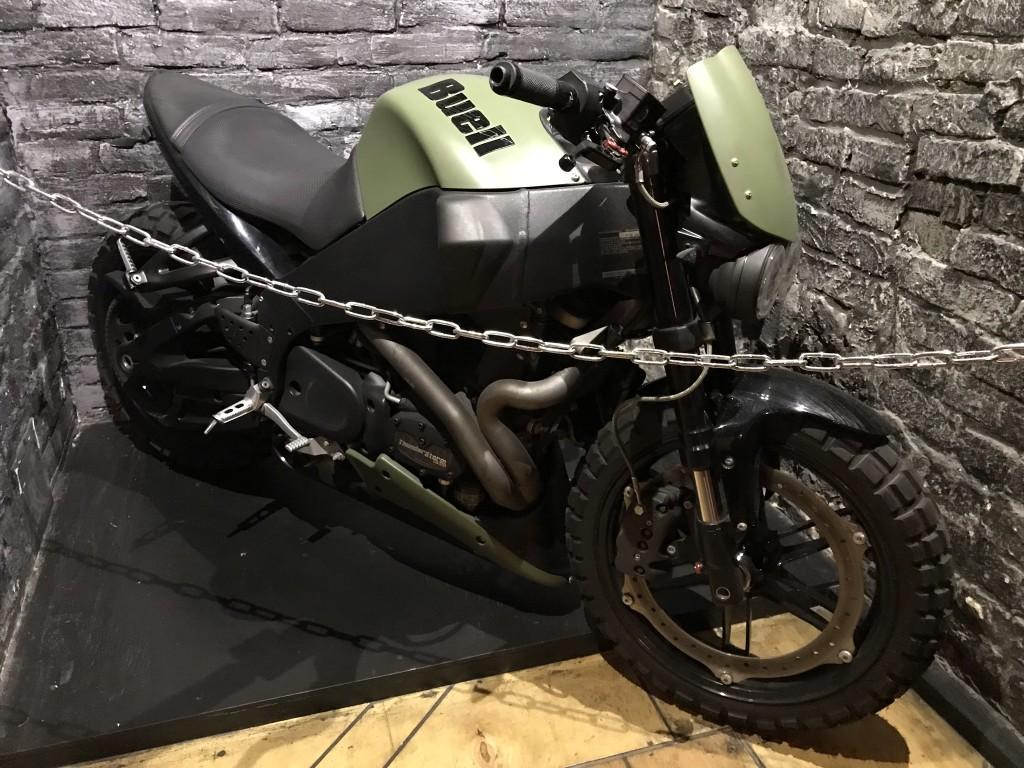 Rockfellow 210 - мотоцикл, как элемент интерьера