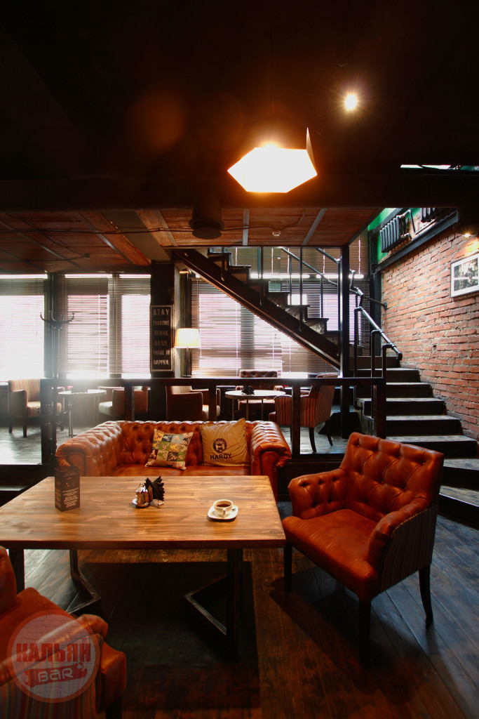 Интерьер Hardy Lounge Bar на Братиславской