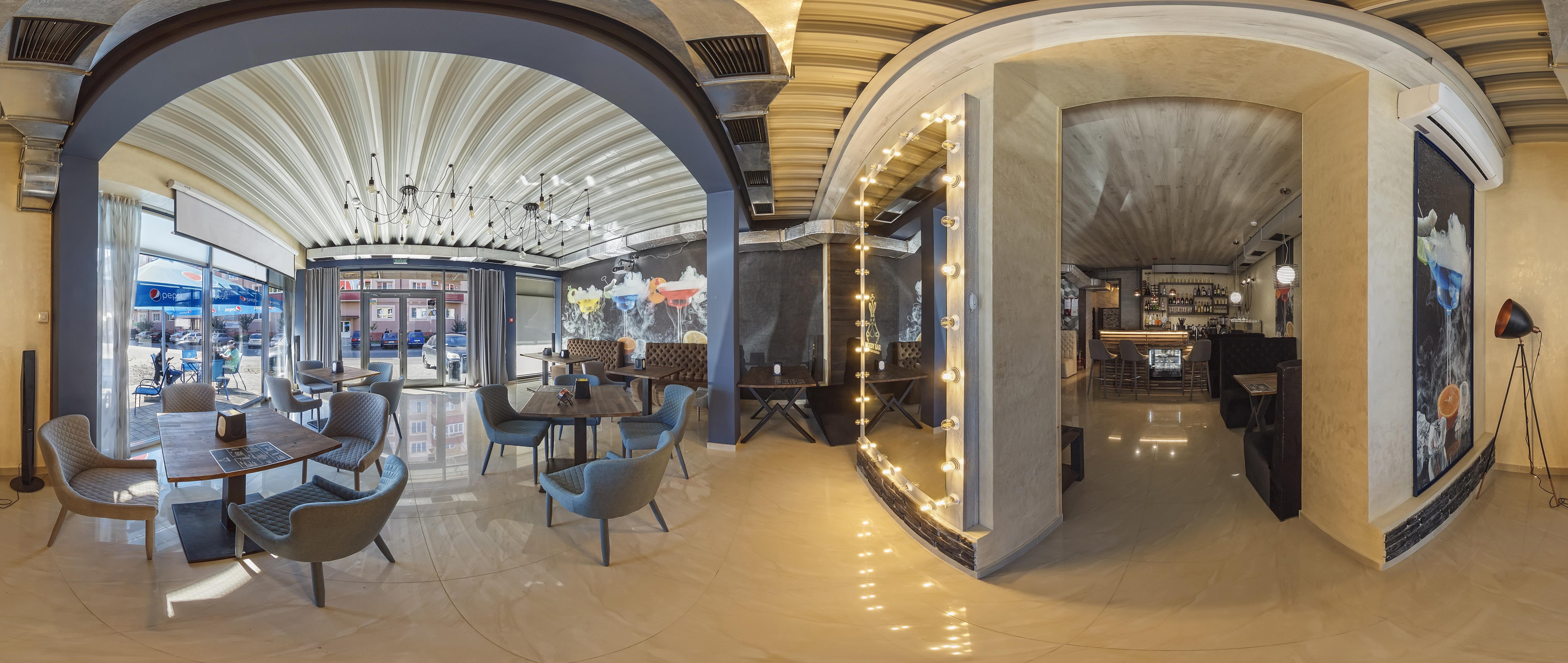 Moody Bar - интерьер кальянной в Ужгороде