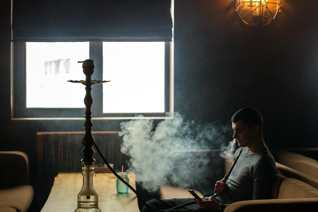 Интерьер и гости Кэнди Лаунж на Позняках