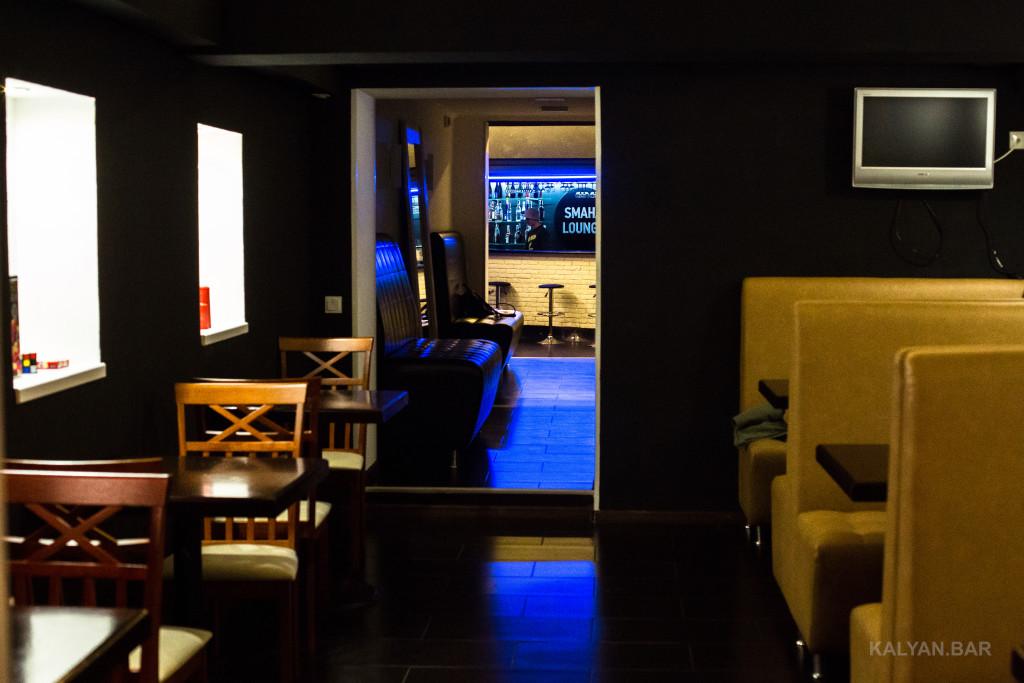 Второй зал кальянной Smaha Lounge
