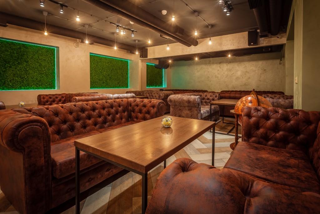 Роскошный зал с продуманными деталями интерьера - Bizone на Жулебино