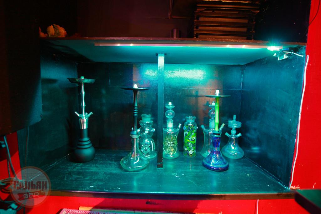 Кальяны в баре F-Lounge на Бауманской