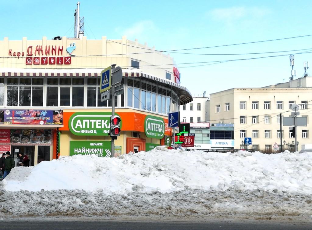 Кафе Джинн возле станции метро Пушкинская