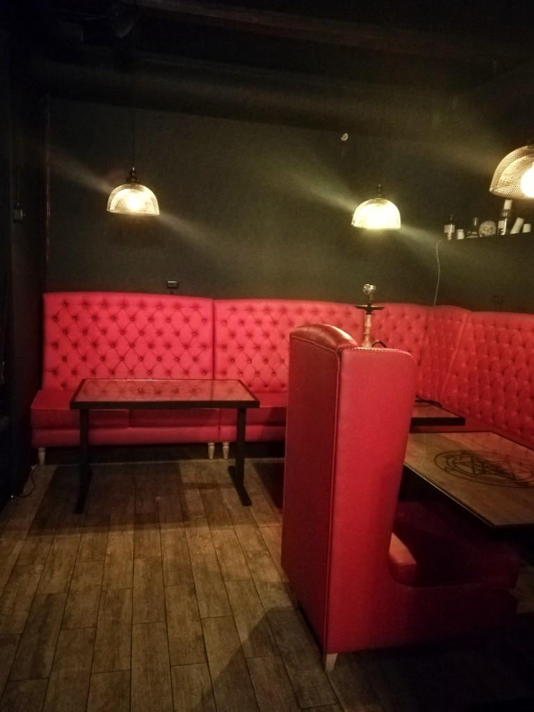 Красный зал The Alchemist Bar