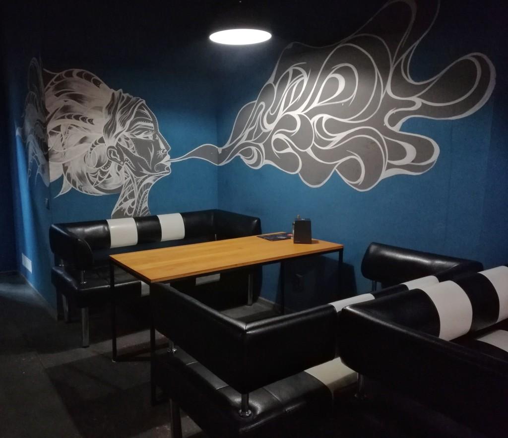 Рисунки на стенах в Secret Place