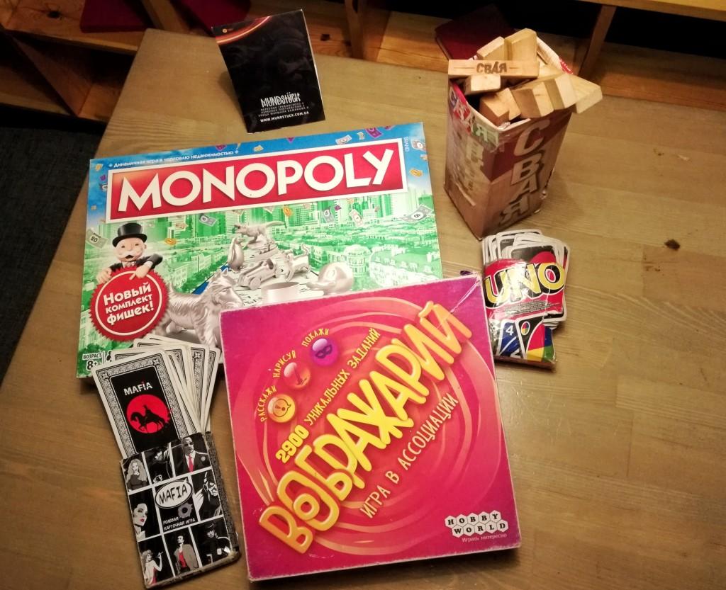 Настольные игры в Mundstuck