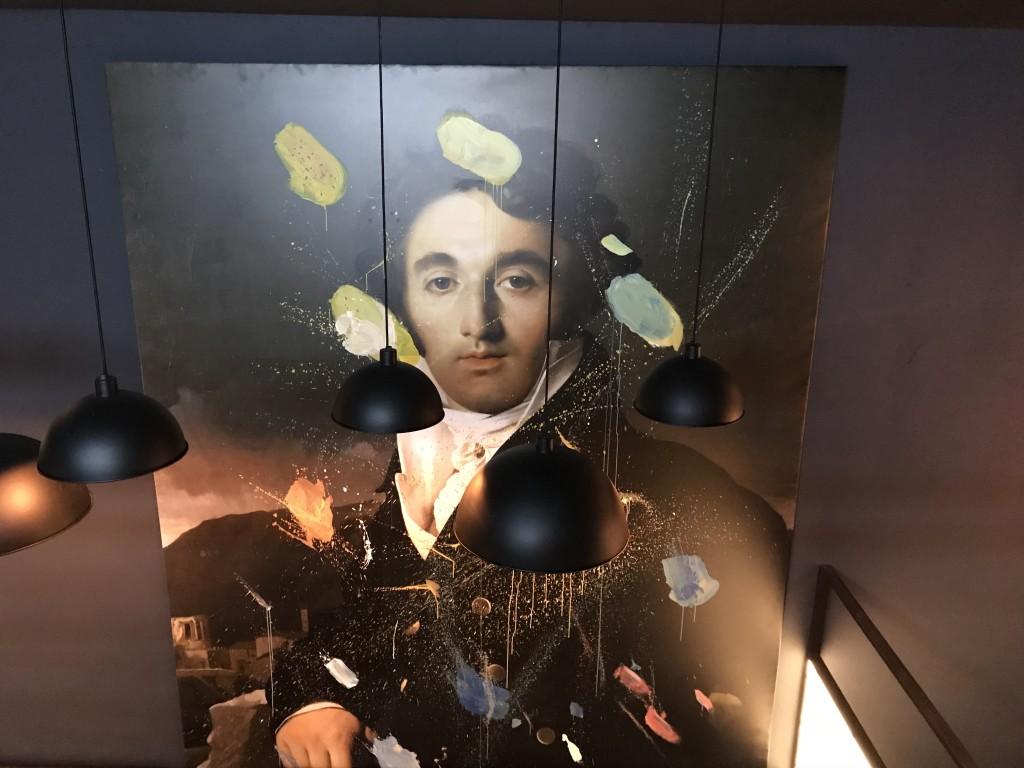 Портрет в духе эпохи Возрождения в кальянной Артхаус