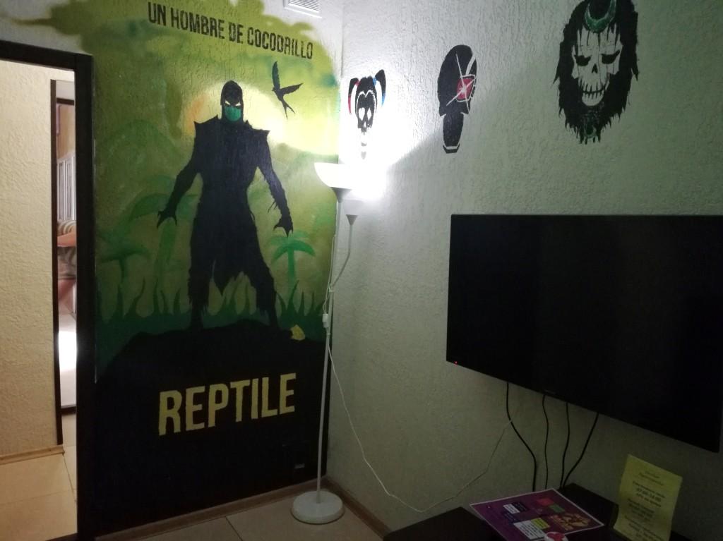Зелёная игровая комната в Safari Game Club