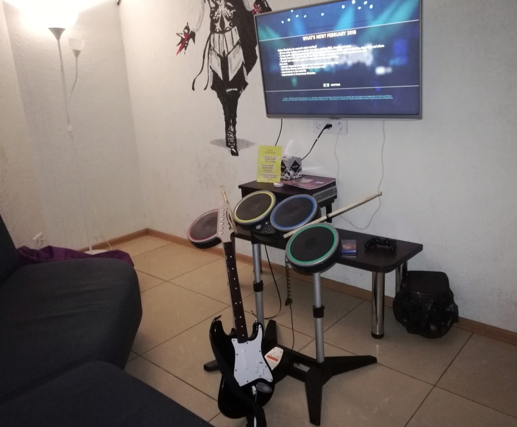 Rock Band 4 в Safari Game Club