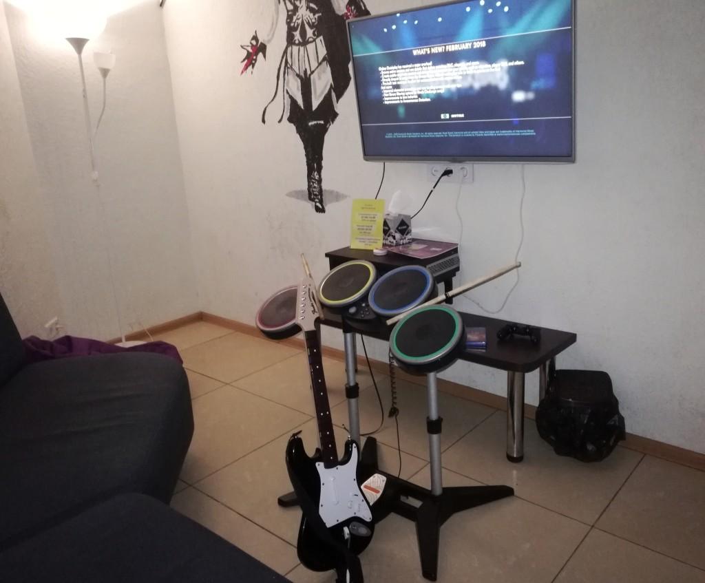 Rock Band 4 в Safari Game Club