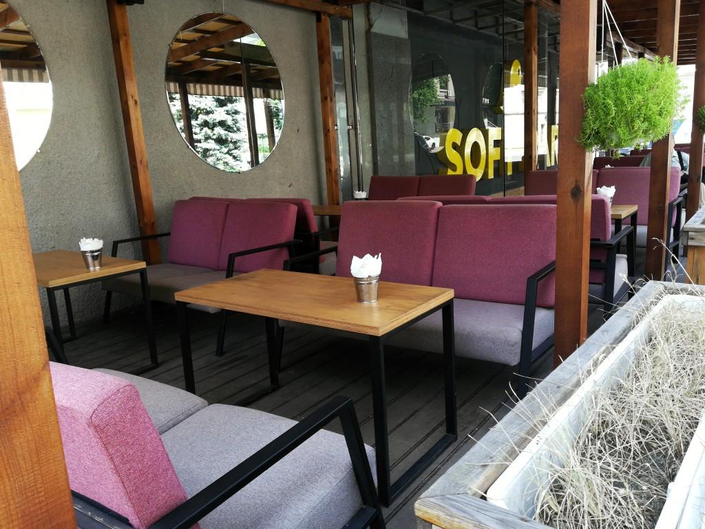 Летняя терраса в Soft Bar
