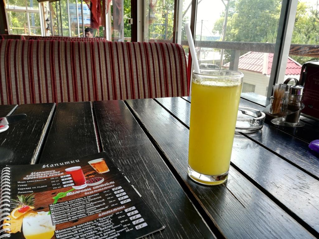 Лимонад собственного производства Наама-Бэй