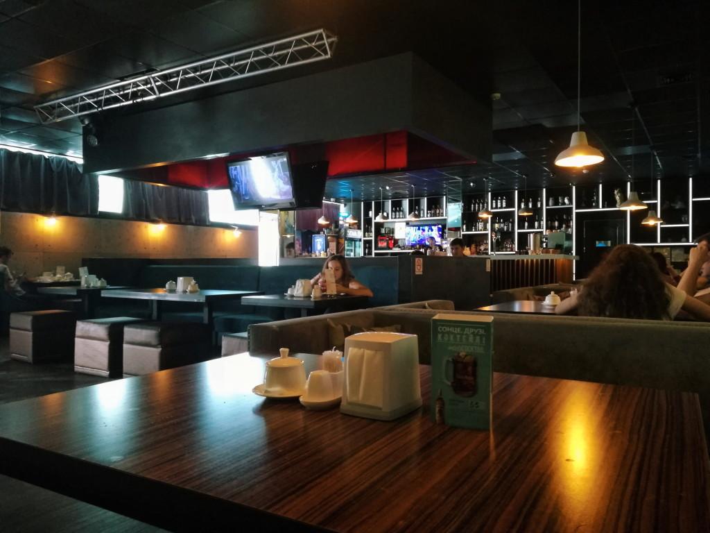 Интерьер Sova Bar