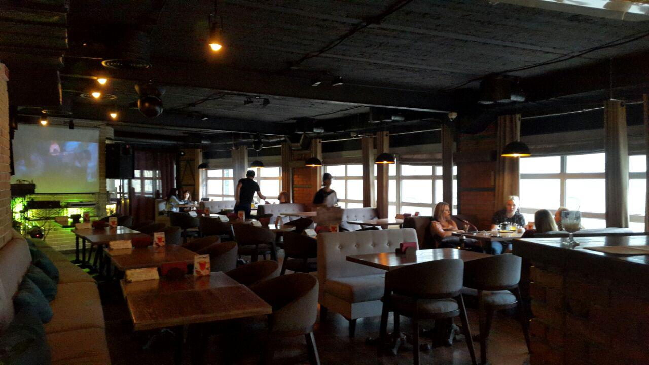 Интерьер Loft Bar на Бессарабке