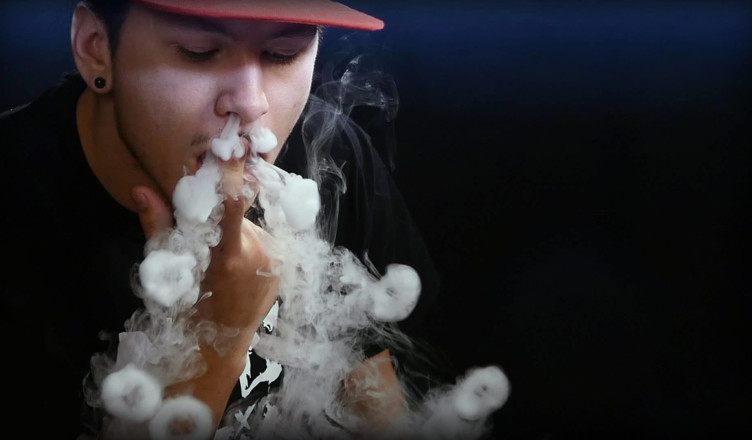 Трюки с кальянным дымом