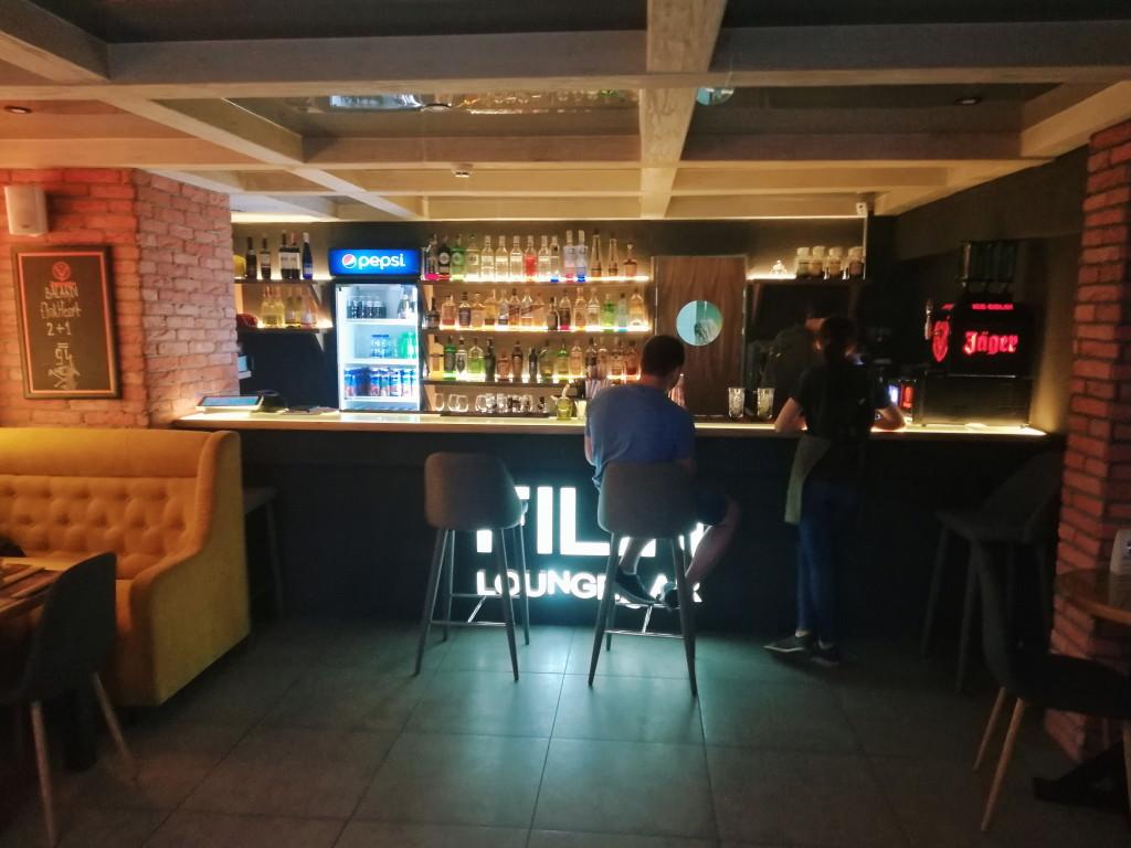 Контактный бар в Filin