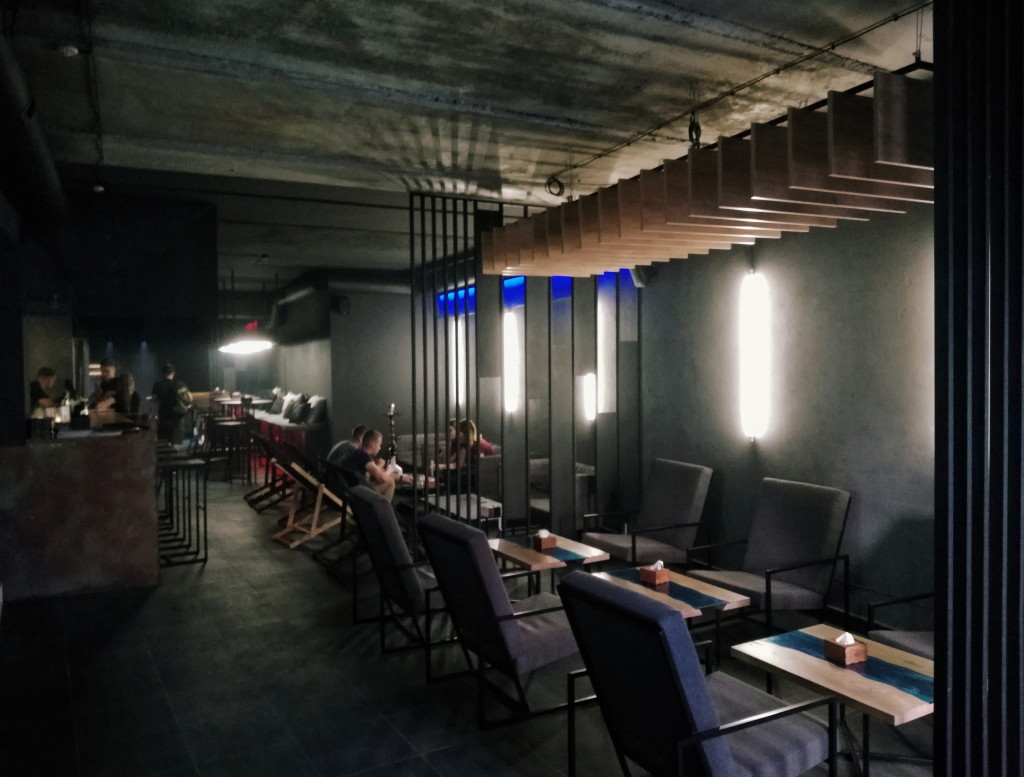 Интерьер в REES lounge