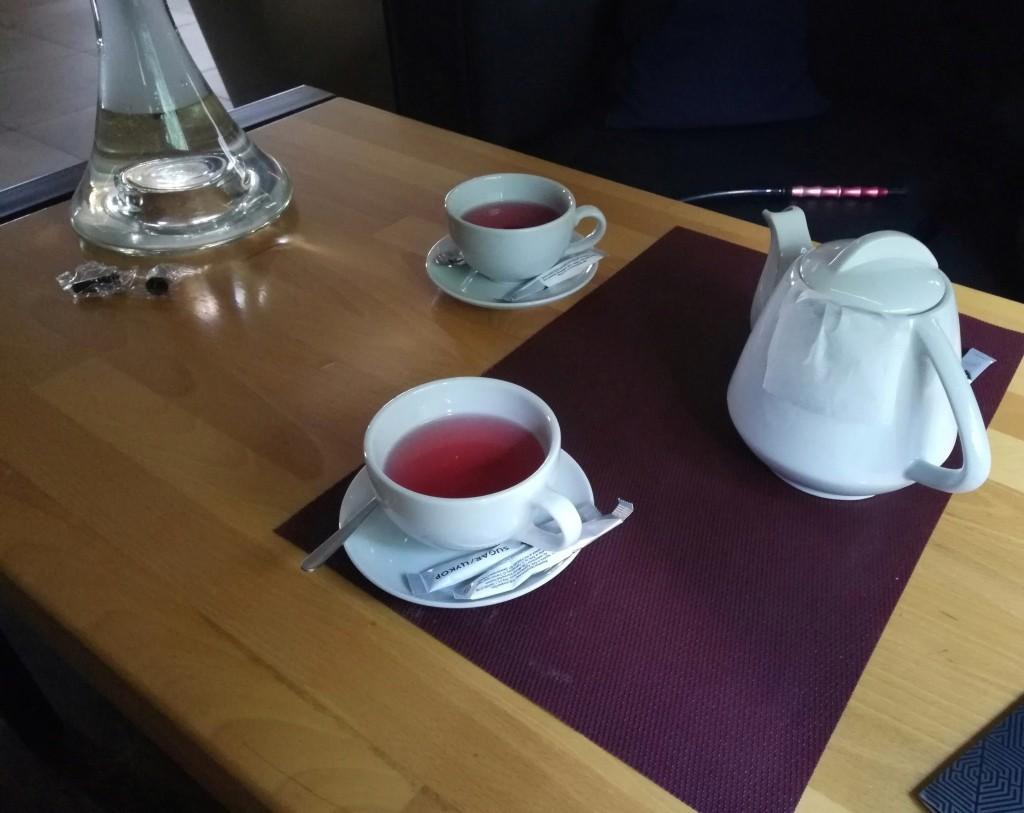 Ягодный чай в Mist Room