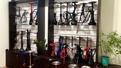 Широкий выбор кальянов в магазине