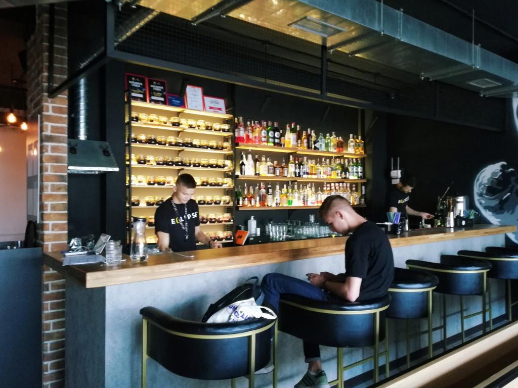 Открытый бар в Eclipse