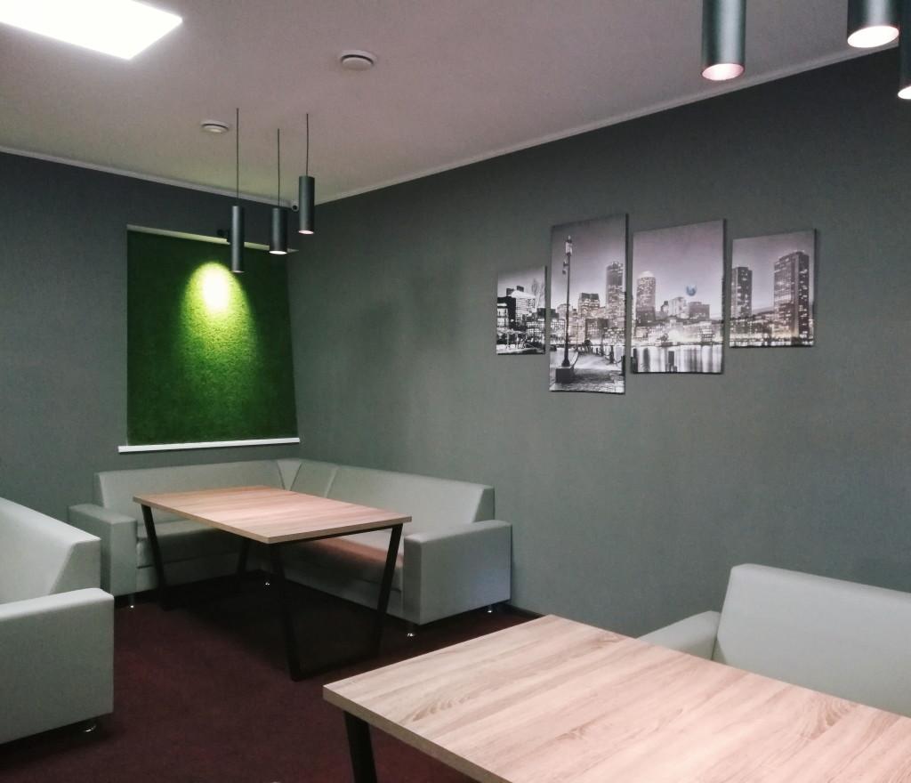 Угловые диваны в Green Grey Bar