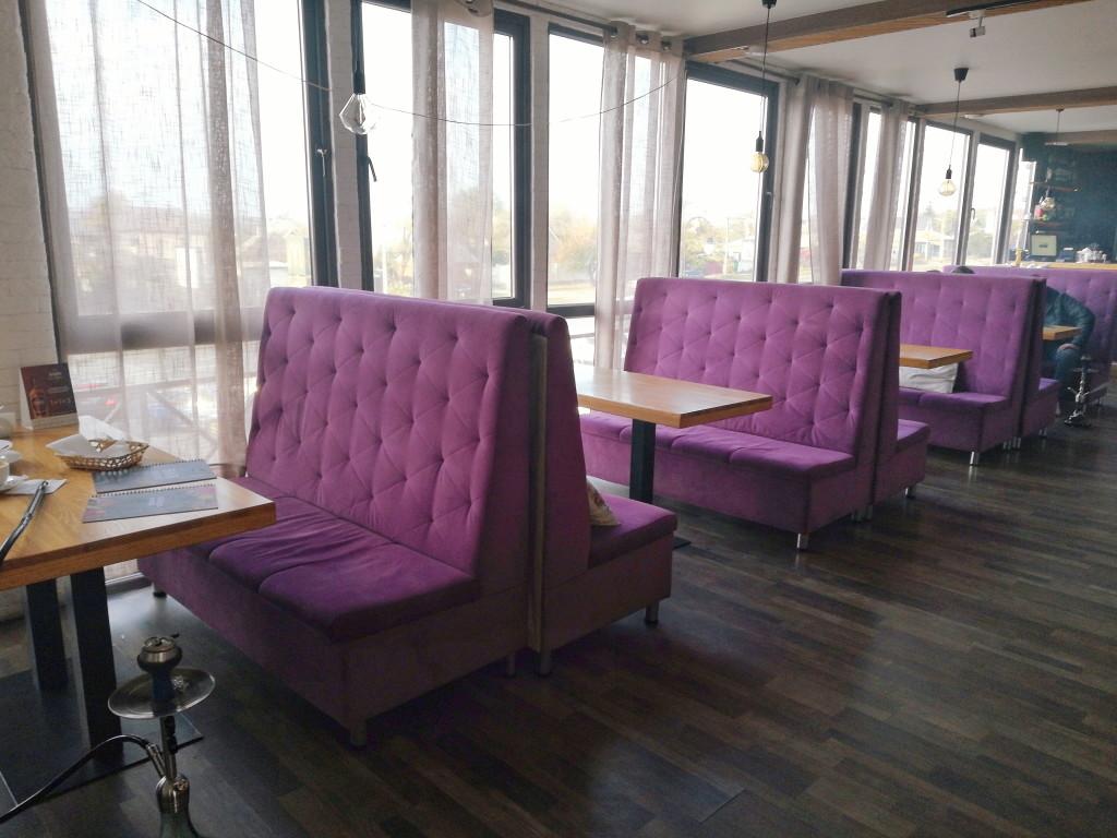 Панорамные окна в Eiffel Lounge