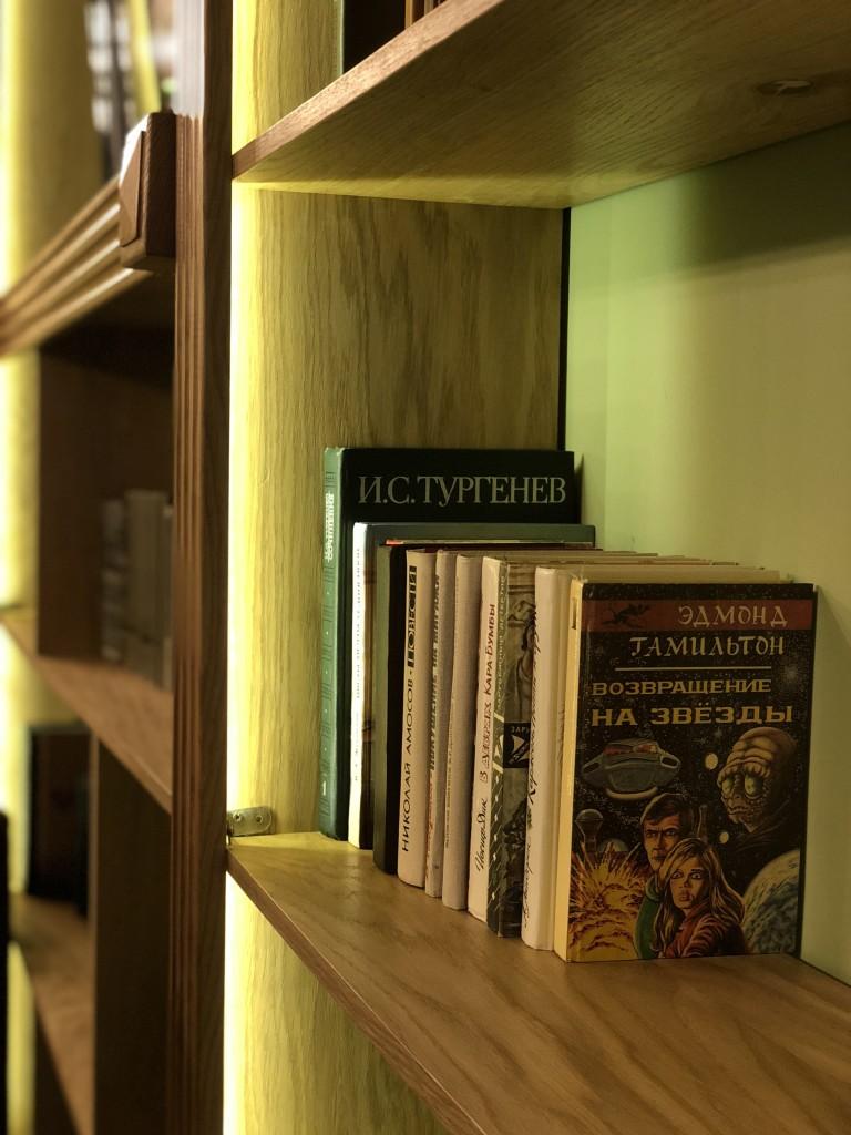 Библиотека в Overdose