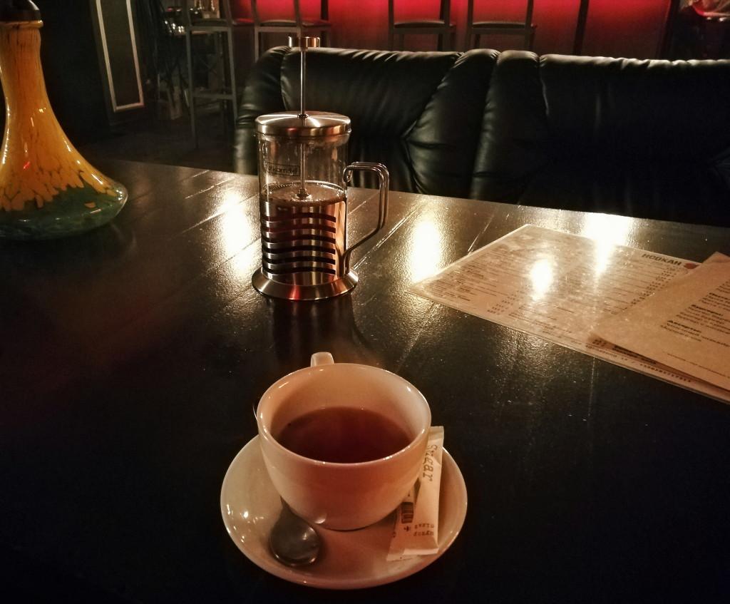 Чай в Hookah Place