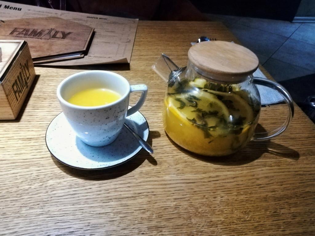 Облепиховый чай в Family 2.0