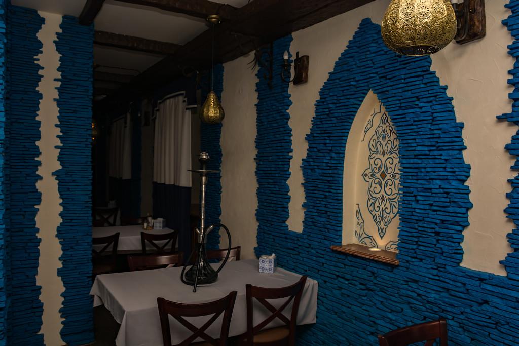 Синий зал в Омар Хайяме