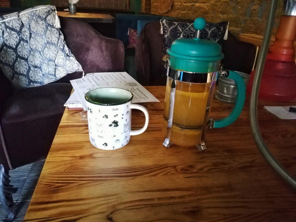 Фруктовый чай в Fabrica