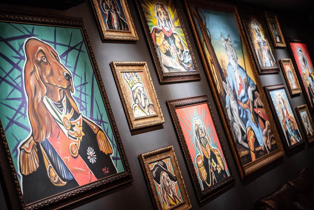 Картинная галерея. Барвиха Лаунж Борки